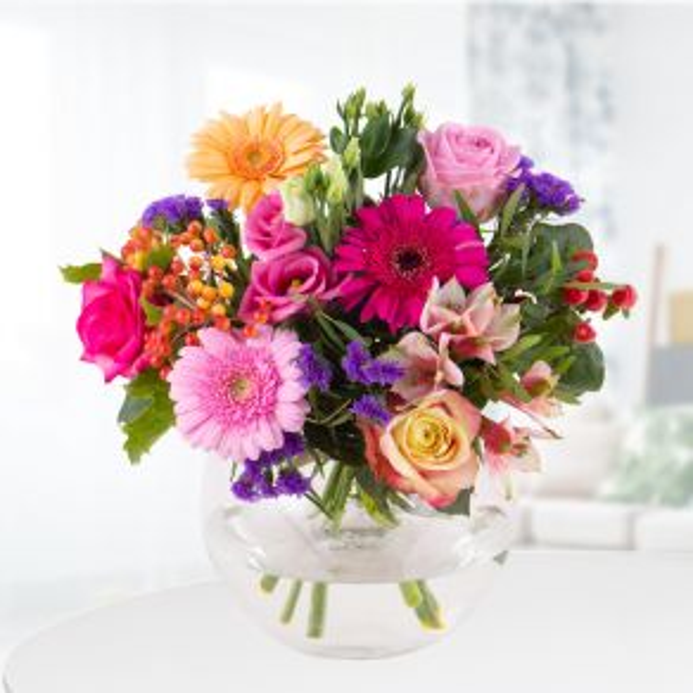 Blumenstrauß Kunterbunt