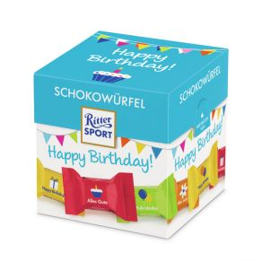 Ritter Sport Schokowürfel Happy Birthday (176g)
