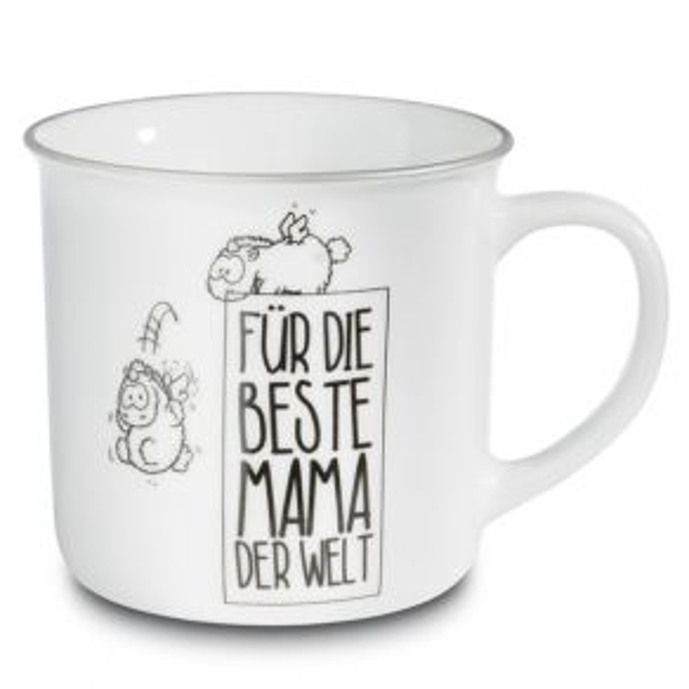 """Nici - Tasse """"Für die Beste Mama der Welt"""" weiß"""