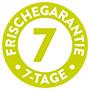 7-Tage-Frischegarantie