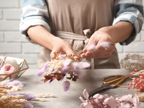 Pflege-Tipps für deine Trockenblumen