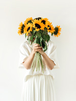 Blumen Lieferung anonym