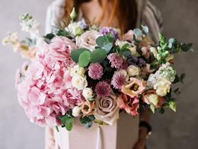 Blumen zur Geburt