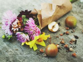 Die schönsten Sträuße mit Herbstblumen