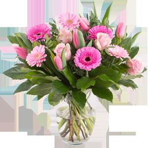 Tulpen Osterdeko