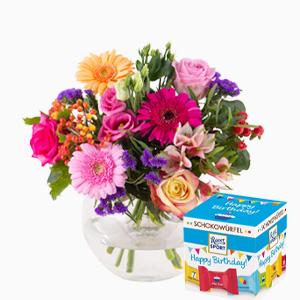Blumen zum Geburtstag verschicken