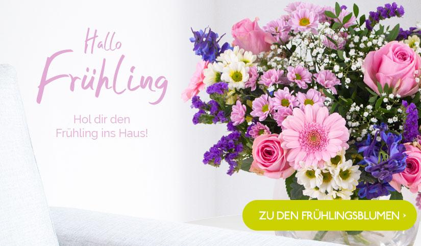 Frühlingsblumen bestellen