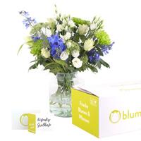 Blumen und Versandverpackung